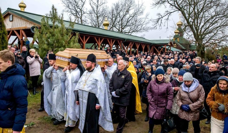 Film do artykułu: Pogrzeb ojca Gabriela. Archimandryta w swojej pustelni zostanie na zawsze (25.11.2018) (zdjęcia, wideo)