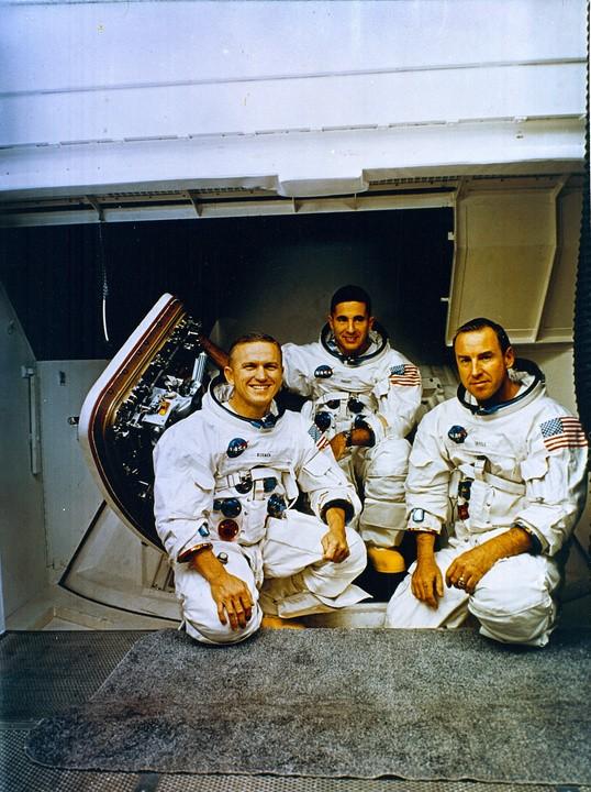 Załoga misji Apollo 8.