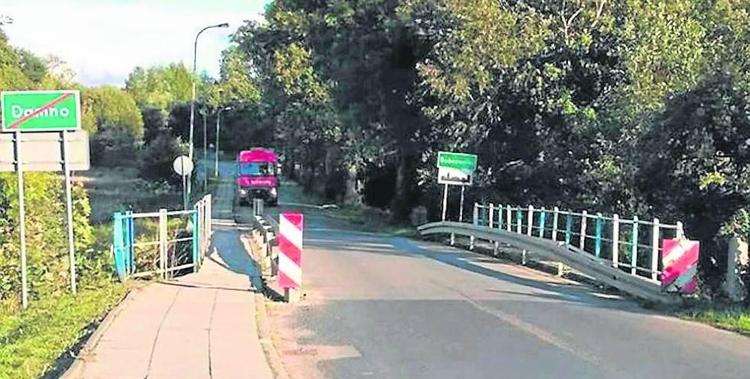 Zanim stary most na Łupawie w Damnie zostanie rozebrany, to firma Most Kujawy ustawi na rzece most tymczasowy. Będą nim mogły jeździć autobusy