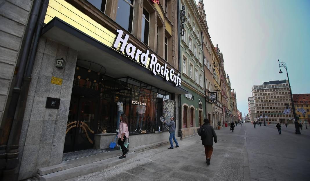 Hard Rock Cafe Menu Wroclaw