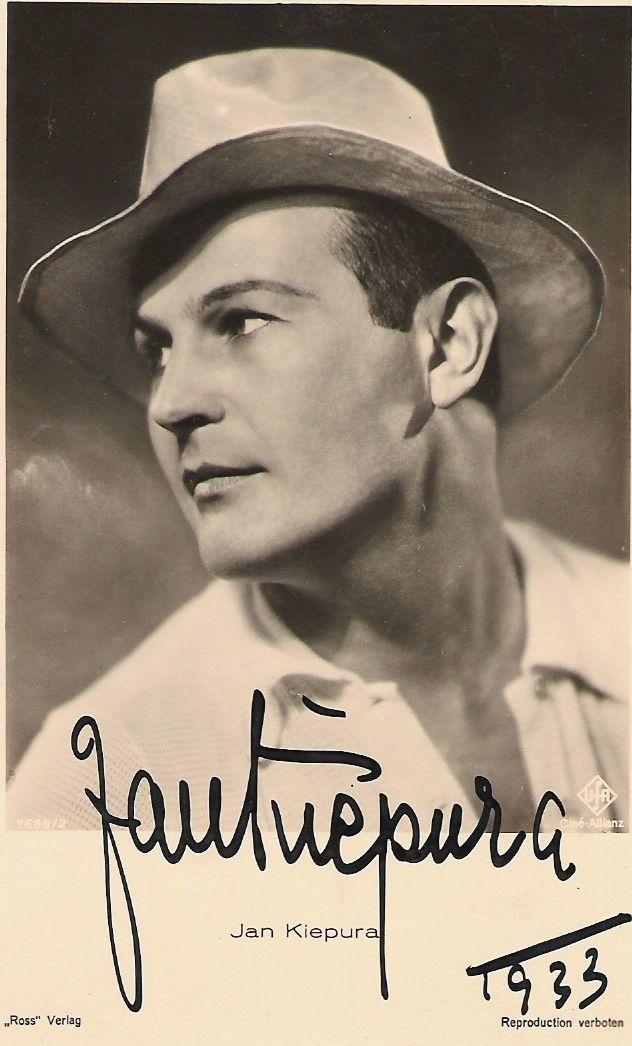 Jan Kiepura w 1933 roku.