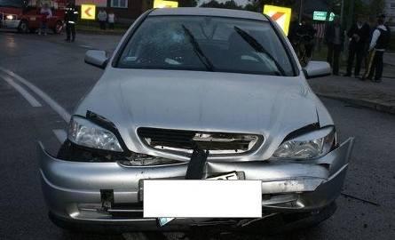 Opel kontra tico. Wypadek na krajowe