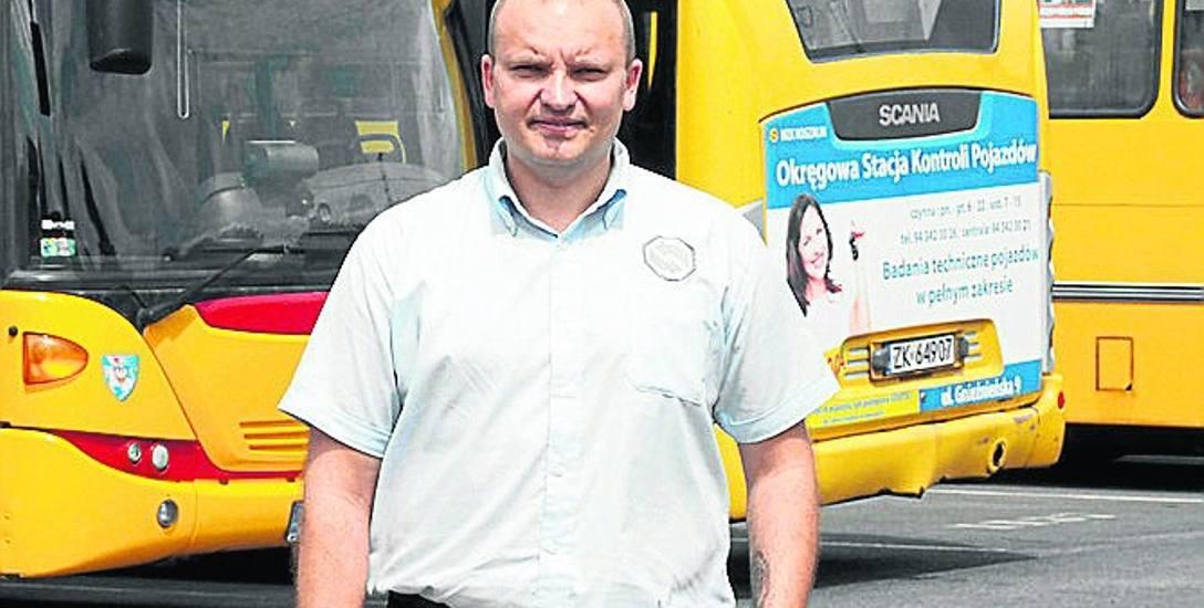 Kierowca MZK pomógł mężczyźnie, który dostał ataku padaczki