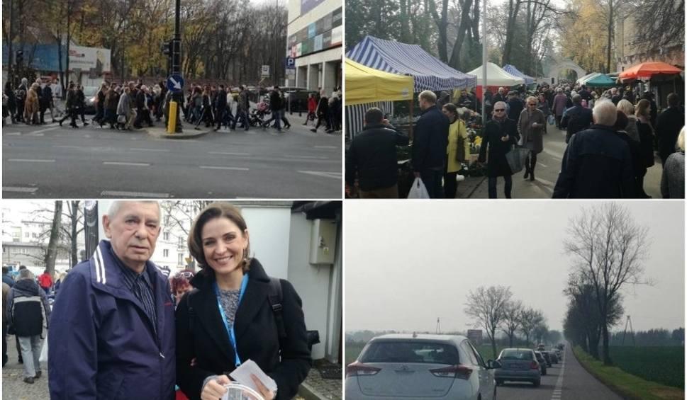 Film do artykułu: Wszystkich Świętych w Lublinie i regionie. Sprawdź, co dzieje się na drogach i w rejonie cmentarzy (RELACJA)