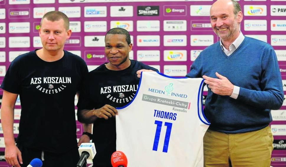 Film do artykułu: Nowy zawodnik dołączył do drużyny AZS Koszalin [WIDEO]