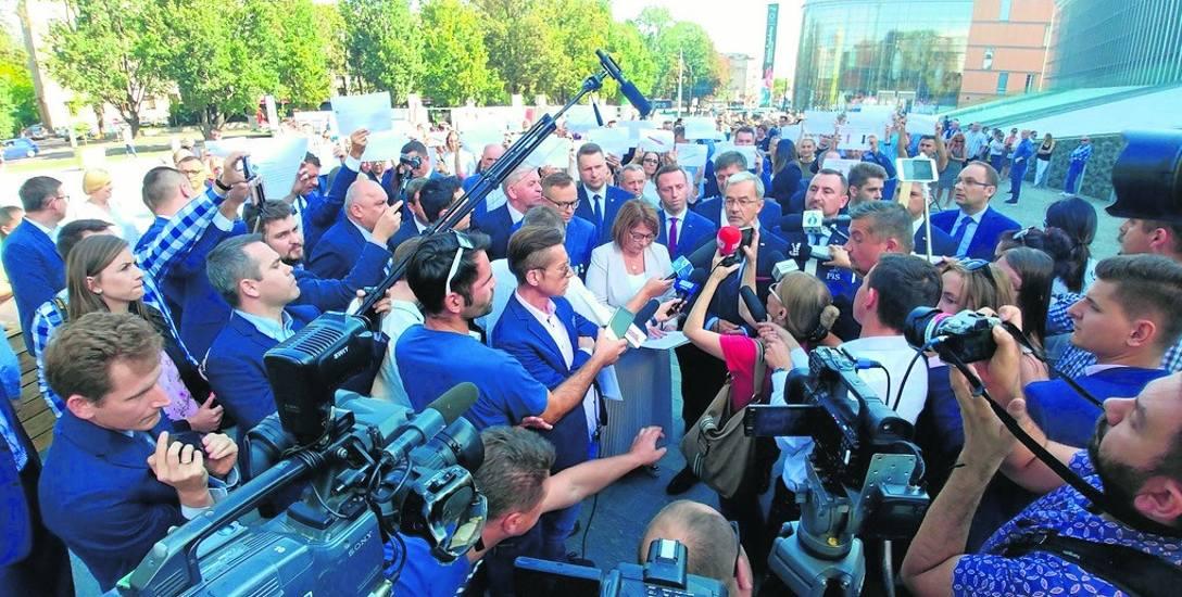 Lublin. Tu ministrowi Kwiecińskiemu przyszło się nasłuchać, co o jego wypowiedziach sądzi marszałek