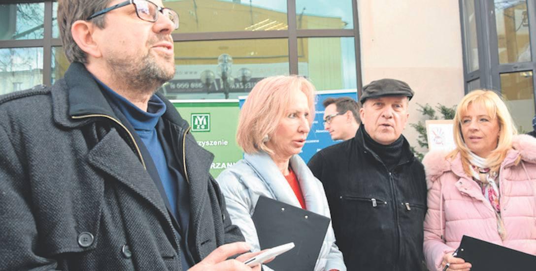 reforma edukacji strajk rodziców Zielona Góra