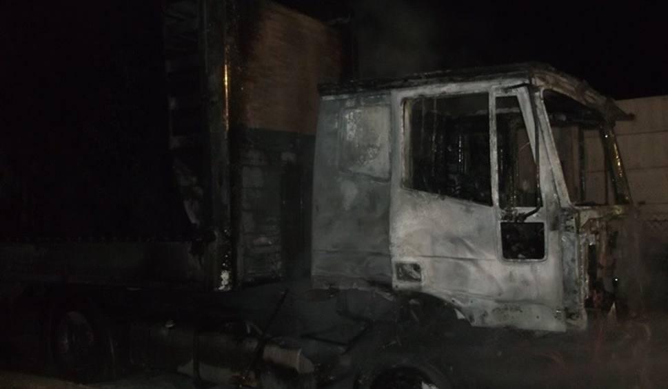 Film do artykułu: Balbinów. Nocny pożar ciężarówki