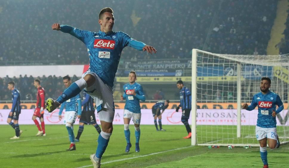 """Film do artykułu: Serie A. """"MaraMilik"""" i """"magia a la Diego"""" - włoskie media o bramce polskiego napastnika Napoli"""