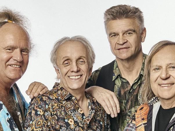 Budka Suflera: Mieczysław Jurecki, Tomasz Zeliszewski, Robert Żarczyński i Romuald Lipko