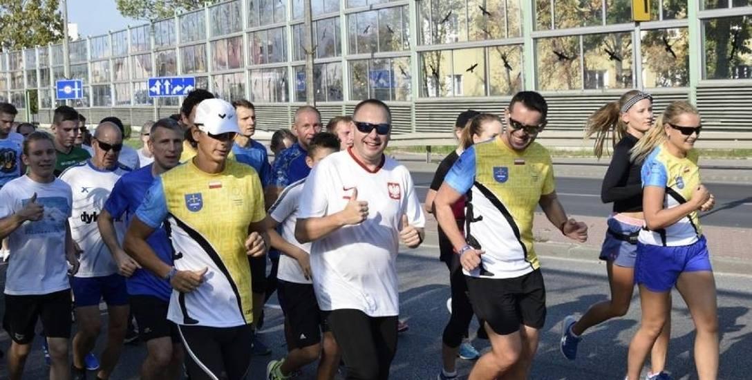 Bieg ulicami Skierniewic dla uczczenia pamięci papieża Polaka