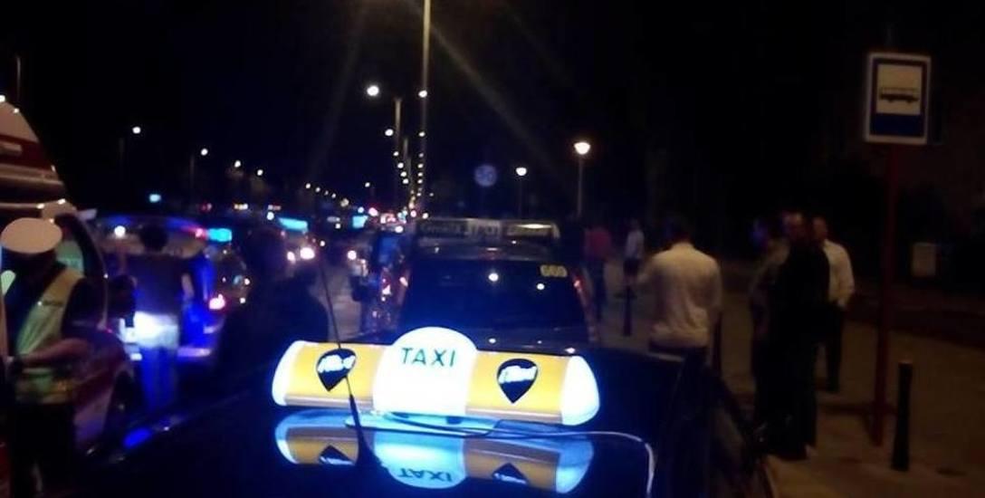 Taksówkarze pożegnają swojego kolegę