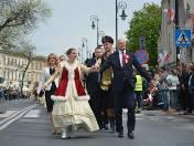 Zdjęcie do artykułu: Cały Lublin zatańczył poloneza (ZDJĘCIA, WIDEO)