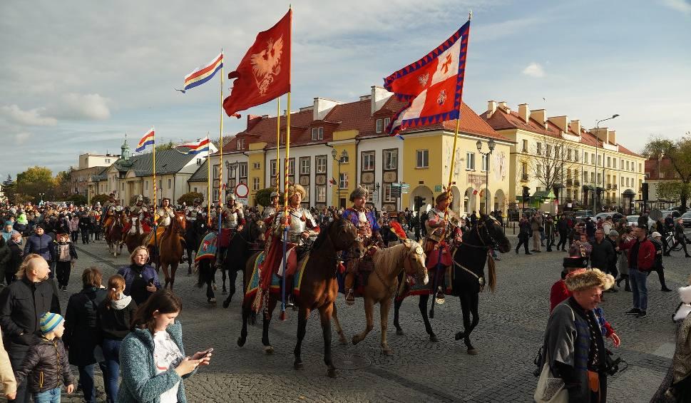 Film do artykułu: Wielka Parada Branickich i uroczysty przejazd husarii przez Białystok  (zdjęcia, wideo)