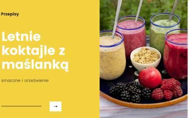 Na upalne dni najlepsze są owocowe i warzywne chłodniki oraz szklanka maślanki, która doskonale komponuje się w zimnych koktajlach, daniach wytrawnych