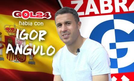 Igor Angulo: Kto zostanie mistrzem Polski? Chciałbym, żeby Górnik trochę namieszał [WIDEO]