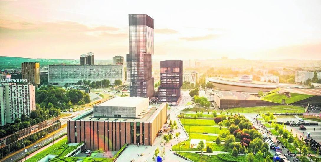KTW II przy Spodku. Wybudują nowy najwyższy budynek Katowic i regionu