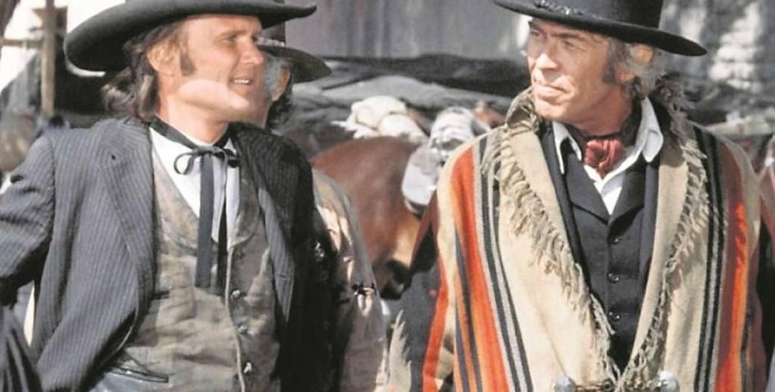 Kris Kristofferson jako Billy Kid i James Coburn jako Pat Garrett