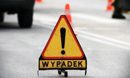 Wypadek na S1 przy zjeździe na Mysłowice