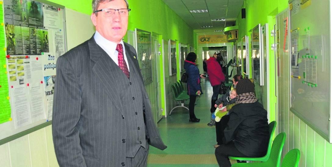 Dyrektor PUP w Skierniewicach Ryszard Pawlewicz planuje przedłużyć czas pracy urzędu