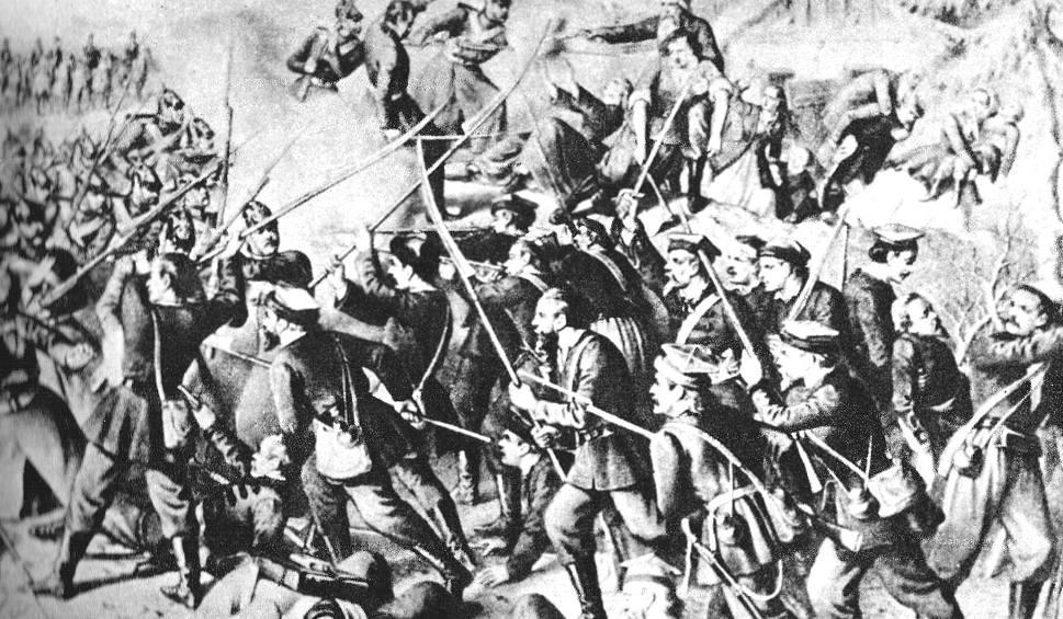 Film do artykułu: Aż trudno uwierzyć co działo się w bitwie pod Małogoszczem. Oto obraz jednego z największych starć Powstania Styczniowego (ZDJĘCIA)