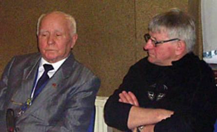 Jerzy Wierzchnowski (z lewej) zakończył karierę 5 lat przed pojawieniem się na torach Jana Ząbika