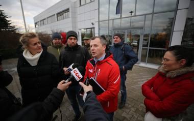W zakładzie produkcyjnym Opla w Gliwicach odbyły się tzw. masówki