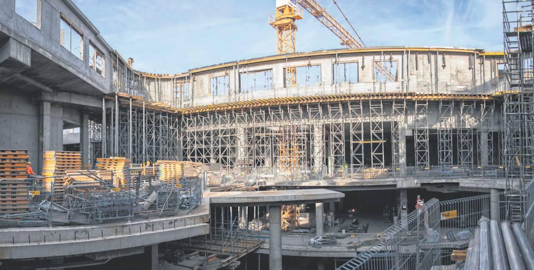 Trwa budowa Galerii Libero w Katowicach. Ma być otwarta na przełomie sierpnia i września 2018 roku
