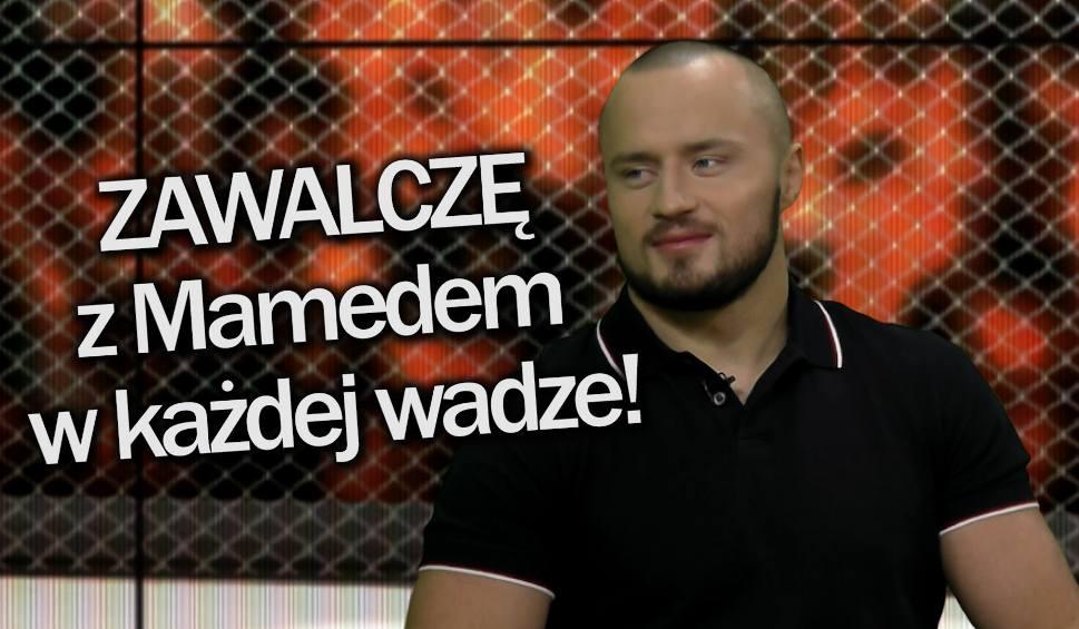 """Film do artykułu: Magazyn Sportowy24. """"Z Mamedem zawalczę w każdej wadze!"""""""