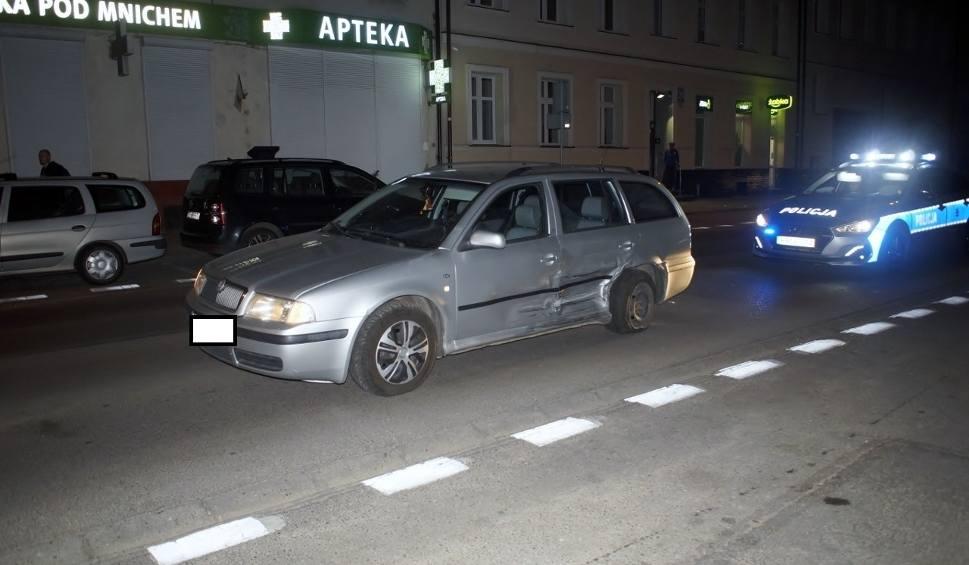 Film do artykułu: Kolizja w Słupsku. Kierowcy trzeźwi. Amerykanin ukarany mandatem