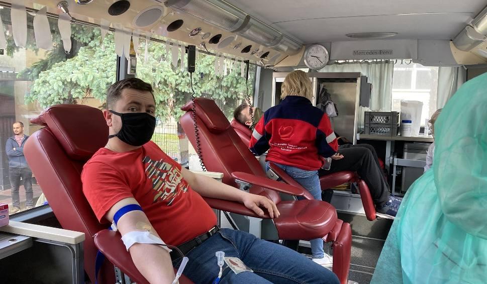 Film do artykułu: Górnicy Tauron Wydobycie przekazują krew do szpitali. Oddali już ponad 160 litrów krwi