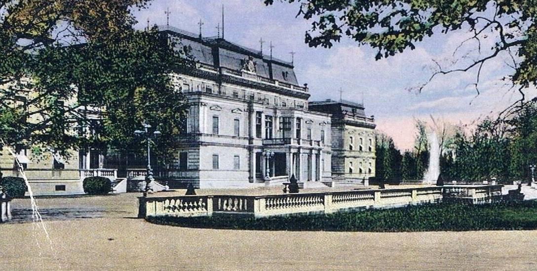 Posiadłość rodowa rodziny Hohenlohe w Sławięcicach.