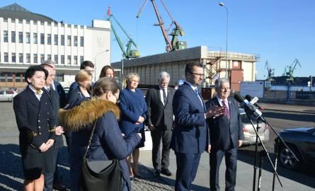 Kandydatów PiS do Europarlamentu z Pomorza przedstawił w Gdyni poseł tej partii Marcin Horała.