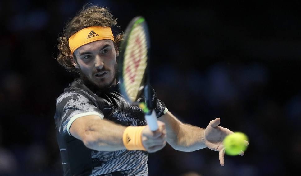 Film do artykułu: ATP Finals. Stefanos Tsitsipas w finale. Grek po raz drugi w tym roku pokonał Rogera Federera