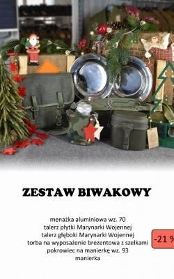 Wyprzedaż sprzętu wojskowego AMW. Sklep internetowy i promocje. Świąteczne zestawy
