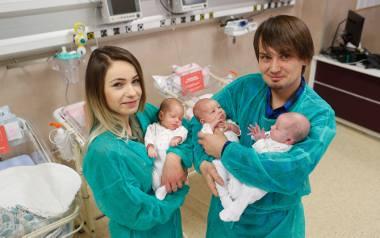 3 grudnia w rzeszowskiej Pro-Familii na świat przyszły Inga, Olga i Wiktoria.