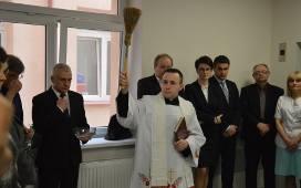 Odnowione pomieszczenia poświęcił szpitalny kapelan ks. Michał Szkupiński