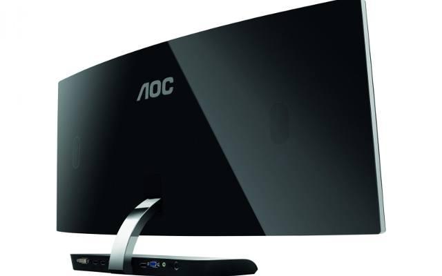 AOC C3583FQ: Monitor z zakrzywionym ekranem dla graczy