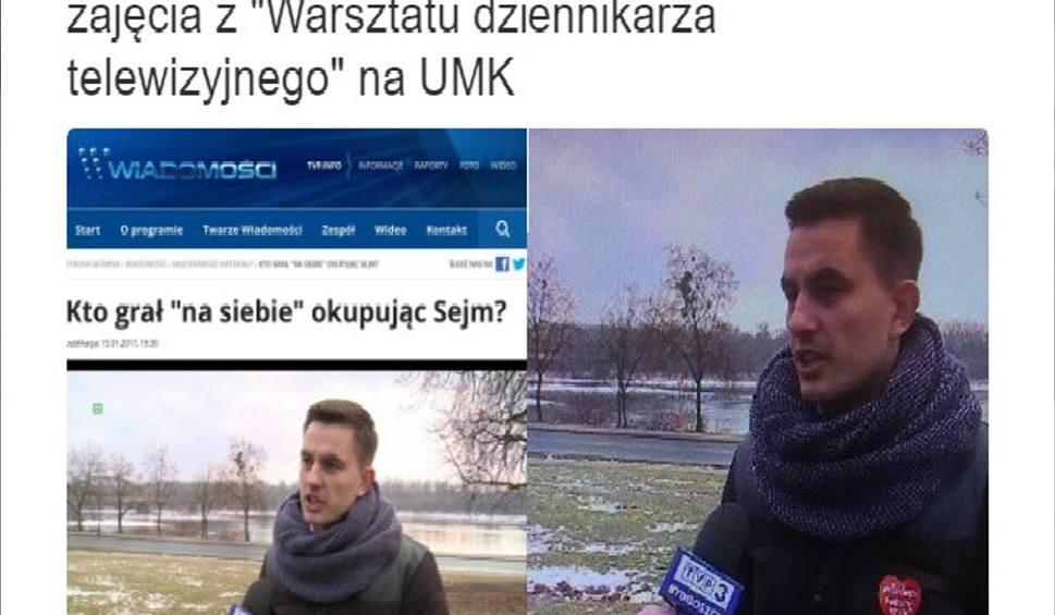 Film do artykułu: Telewizja Polska wymazała serduszko WOŚP z kurtki toruńskiego posła PO