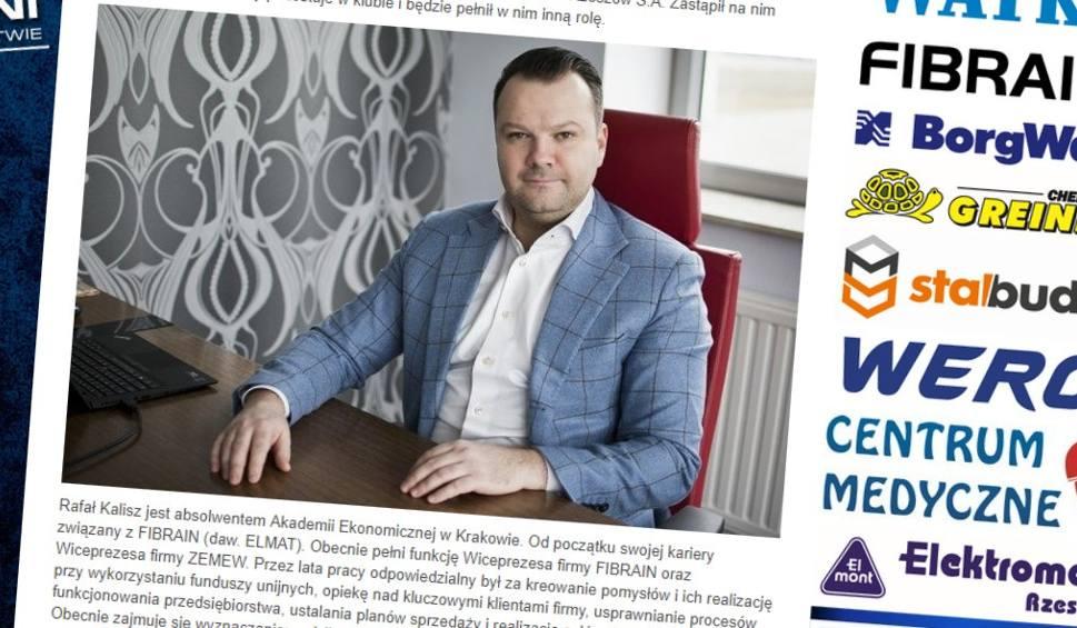 Film do artykułu: Wiesław Puterla nie jest już prezesem Stali Rzeszów. Zastąpił go Rafał Kalisz