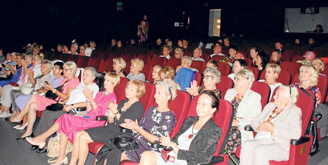 Uroczystości związane z jubileuszem 15-lecia klubu Amazonki odbyły się w kinie Bajka