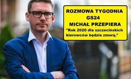 Michał Przepiera: Szczecin z parkingowcami sobie nie poradził [WIDEO]