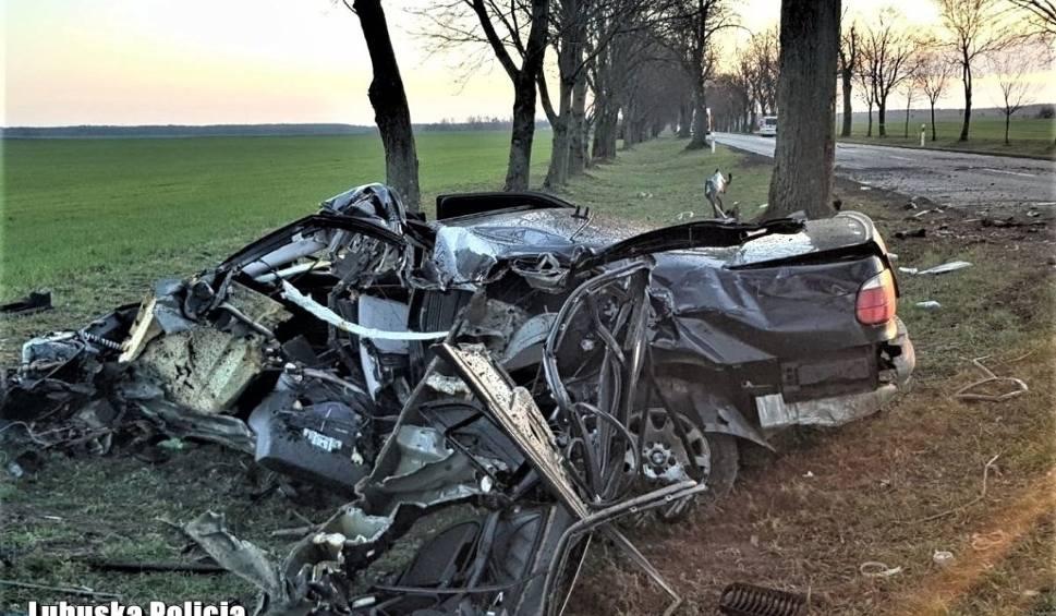 Film do artykułu: LUBUSKIE. LICHEŃ. Bmw roztrzaskało się o drzewo pod Strzelcami Krajeńskimi. 19-letni kierowca zginął na miejscu [ZDJĘCIA]