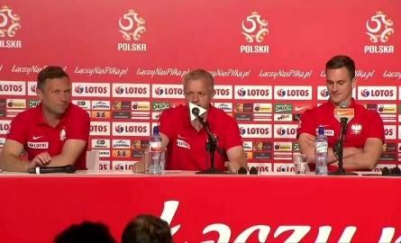 Konferencja reprezentacji Polski