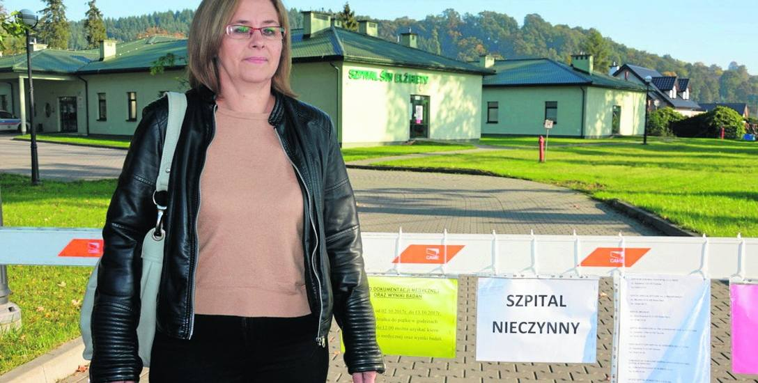 Krystyna Mazgaj korzystała z usług placówki w Roztoce. Jest zaskoczona, że szpital został zamknięty