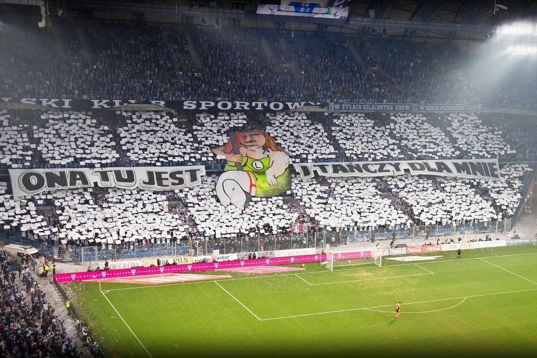 Lech - Legia: Najlepsze oprawy i zdjęcia kibiców. Zobacz!