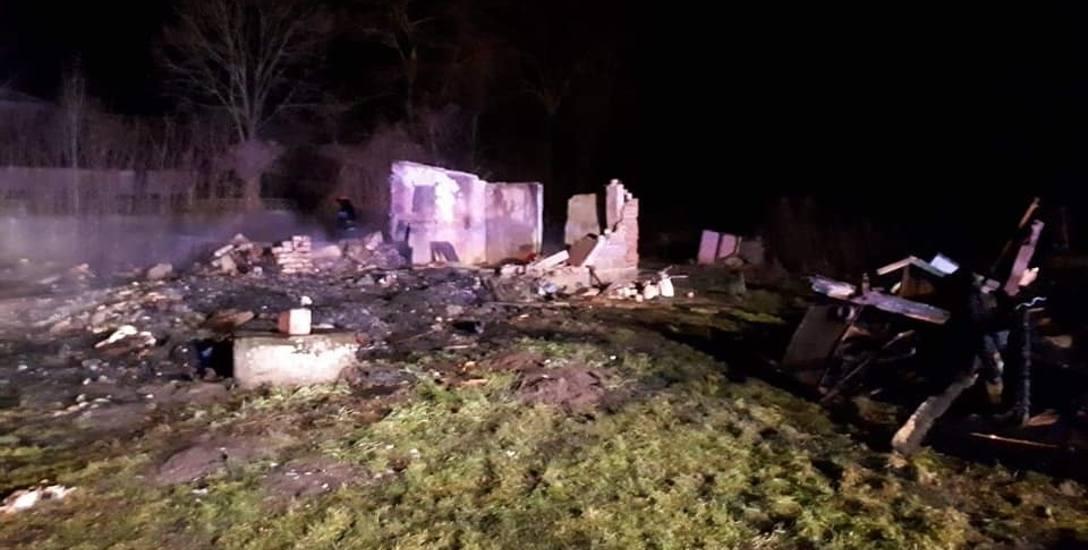 Mieszkaniec Borówka w powiecie łowickim stracił dach nad głową