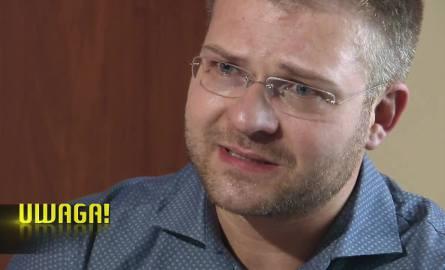 """Rafał Piasecki w programie """"UWAGA!"""": Jestem spokojnym człowiekiem. Nagranie żony to prowokacja"""