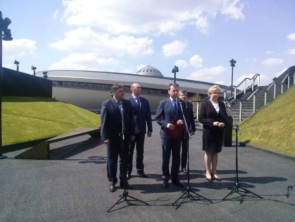 Śląsk i Zagłębie jedyną metropolia w Polsce, od 2017 r. Minister przywiózł do Katowic projekt ustawy