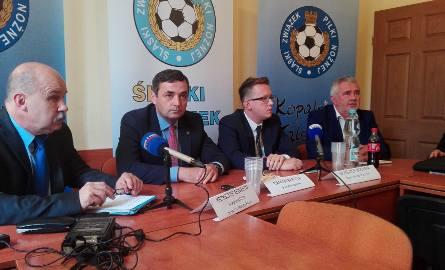 Od lewej: Krzysztof Seweryn, Damian Bartyla, Krzysztof Bochnia i Henryk Kula.